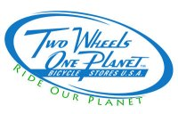 <center>Two Wheels One Planet<center>